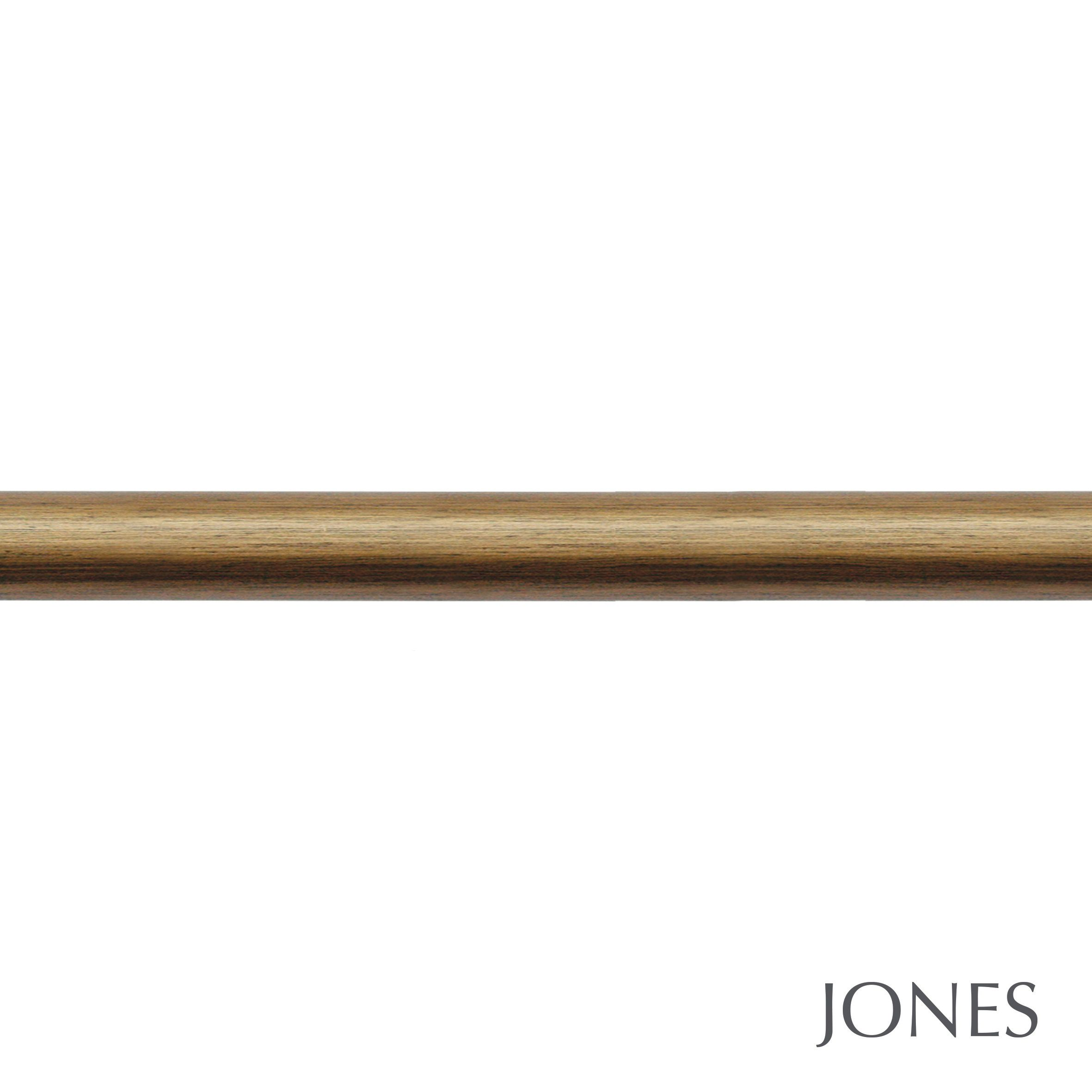 63mm Jones Grande Curtain Pole Only antique gold