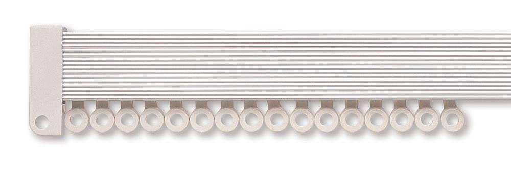 Hallis Rolls Superglide Uncorded Metal Curtain Track