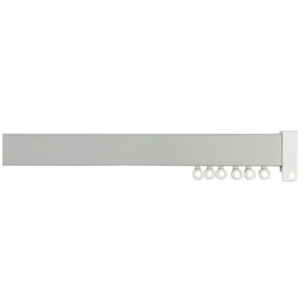 Hallis Rolls Superglide Flat Uncorded Metal Curtain Track