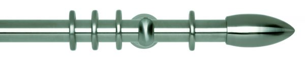 Rolls Neo Metal Curtain Pole 28mm Bullet