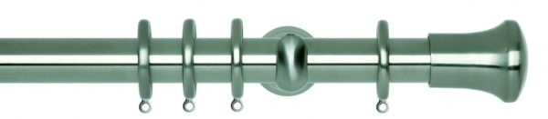 Rolls Neo Metal Curtain Pole 28mm Trumpet