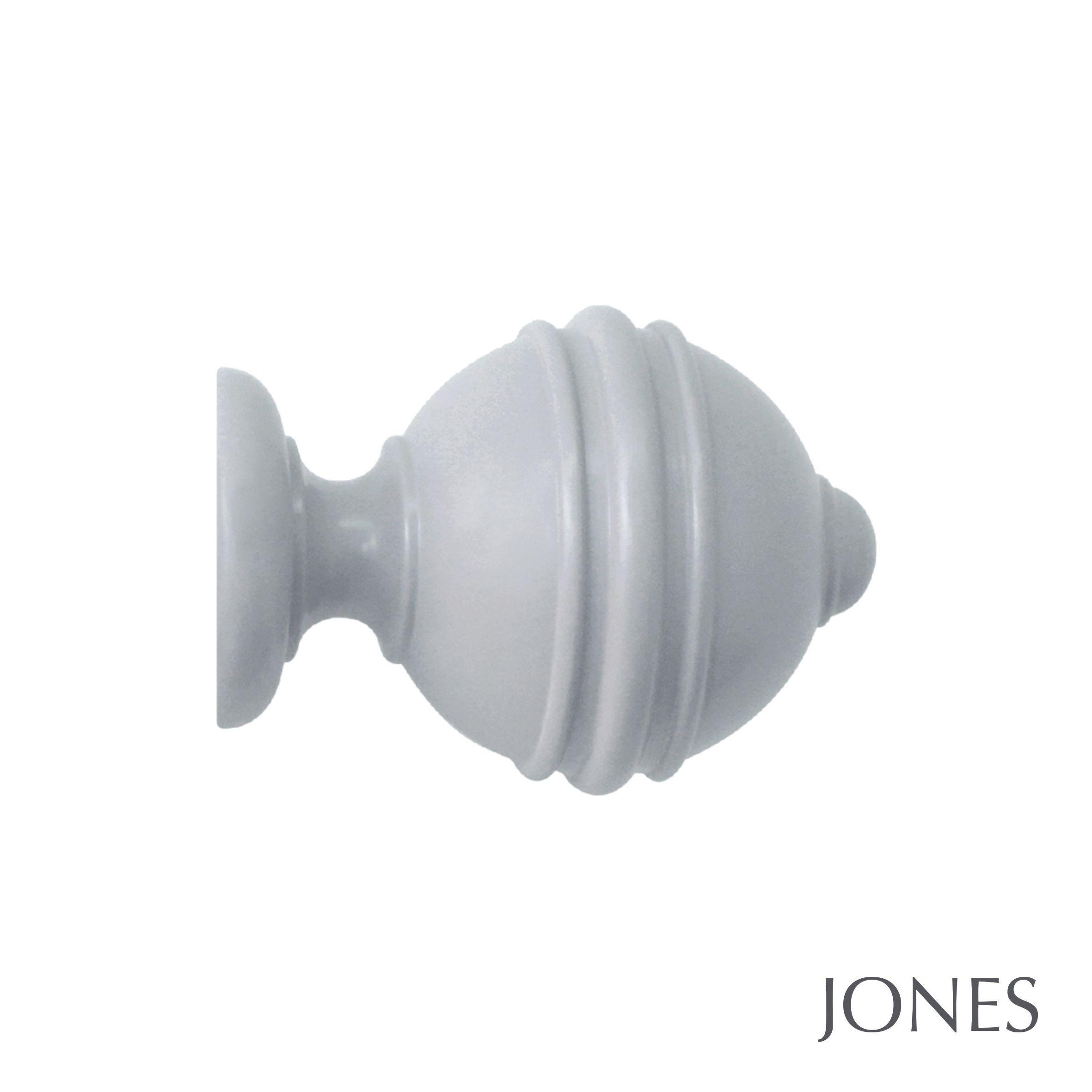 50mm Jones Estate Ribbed Ball Finial shingle