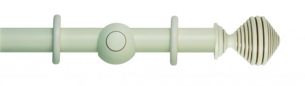 Rolls Museum 45mm Wooden Curtain Pole Dune