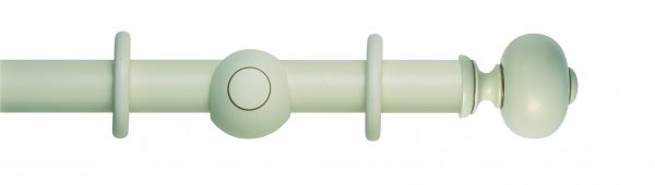 Rolls Museum 45mm Wooden Curtain Pole Parham