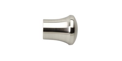 28MM NEO TRUMPET FINIAL STAINLESS STEEL