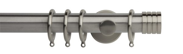Rolls Neo Metal Curtain Pole 35mm Stud