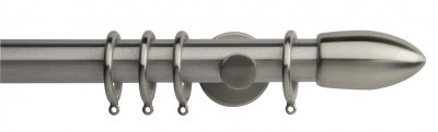 Rolls Neo Metal Curtain Pole 35mm Bullet