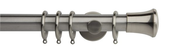 Rolls Neo Metal Curtain Pole 35mm Trumpet