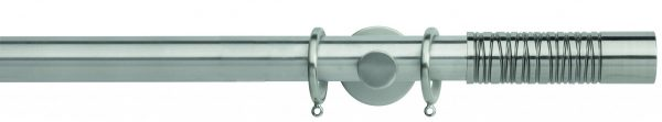 Rolls Neo Metal Curtain Pole 35mm Wired Barrel