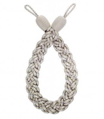 Hallis Rolls Highland Plaited Rope Curtain Tieback