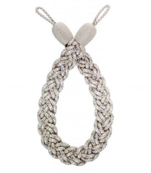 Hallis Rolls Highland Plaited Rope Curtain Tieback