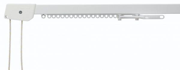 Silent Gliss System 3000 White Aluminium Curtain Track