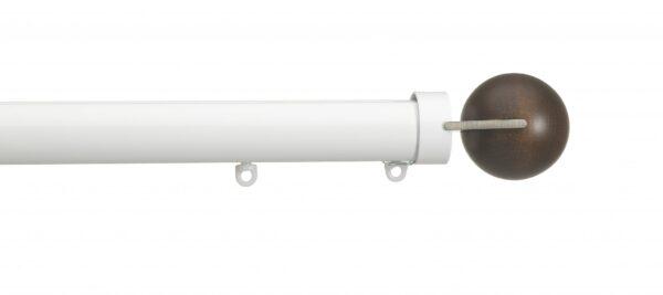 Silent Gliss 30mm Metropole Hand Drawn Fused Ball Walnut