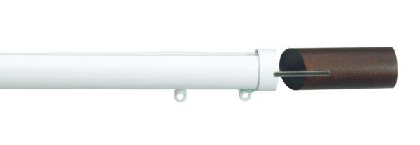 Silent Gliss 30mm Metropole Hand Drawn Fused Barrel Walnut