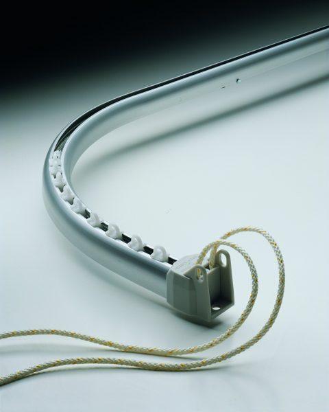 Silent Gliss System 3840 Corded Aluminium Curtain Track