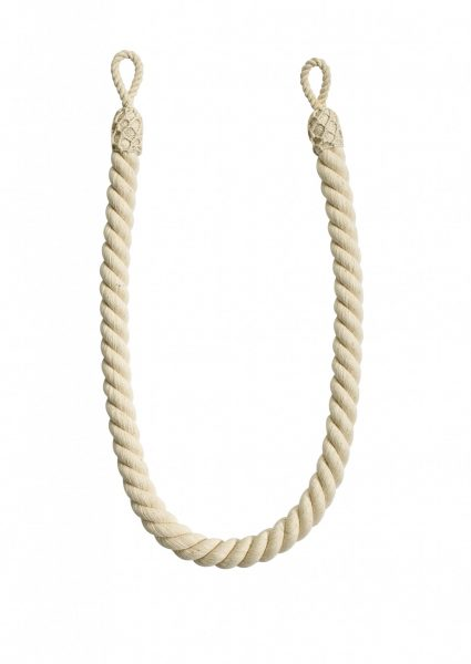 Hallis Rolls Naturals Curtain Rope Tieback