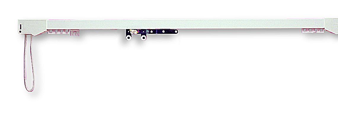 Silent Gliss System 3900 White Aluminium Curtain Track