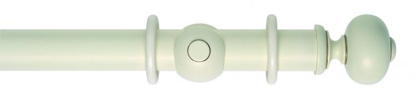 Rolls Museum 55mm Wooden Curtain Pole Parham