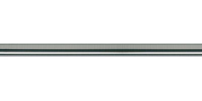 GALLERIA METAL POLE ONLY BRUSHED SILVER