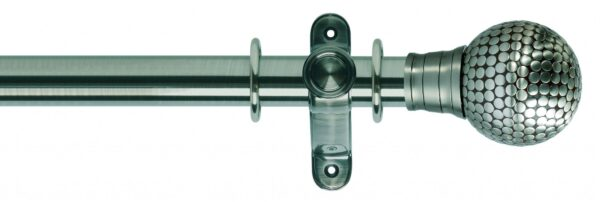 Galleria 35mm Metal Curtain Pole Flat Stud