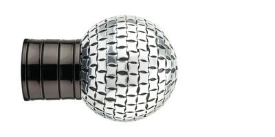 35mm Galleria Square Studded Ball Finial