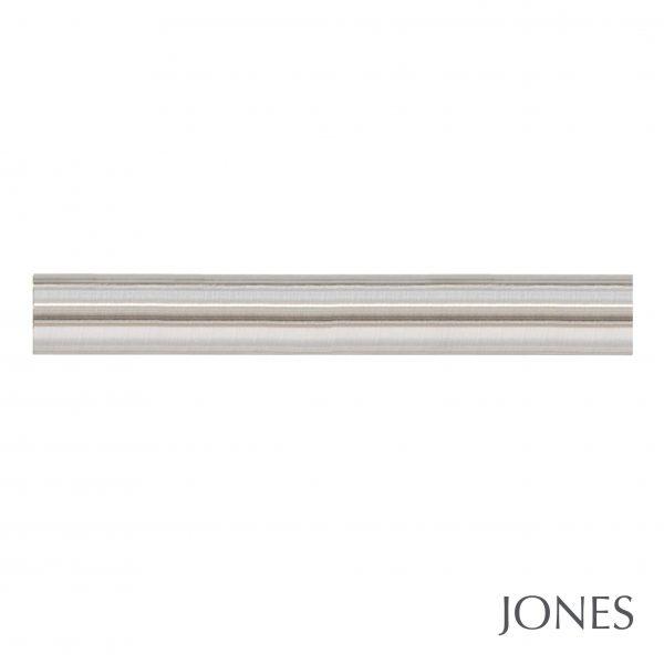 35mm Jones Strand Metal Curtain Pole only matt nickel