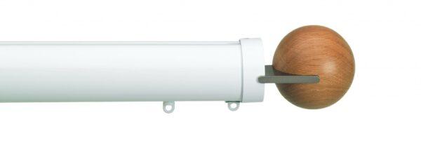 Silent Gliss 50mm Metropole Corded Fused Ball Oak