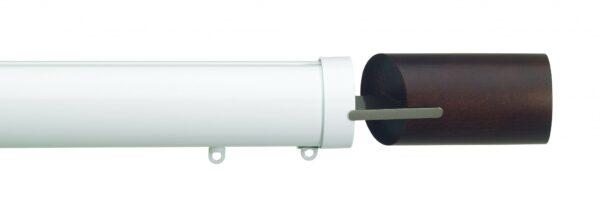 Silent Gliss 50mm Metropole Corded Fused Barrel Walnut