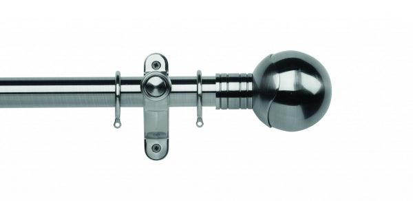 Galleria Metals 35mm Curtain Pole Orb