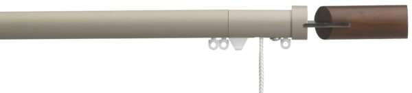 Silent Gliss 30mm Metropole Corded Fused Barrel Walnut