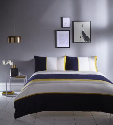 KAREN MILLEN COLOUR BLOCK DUVET SET