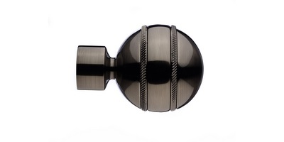 Integra Inspired Allure 35mm Selina Finial brushed silver