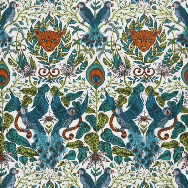 Emma J Shipley Wallpaper Amazon Jungle Swatch
