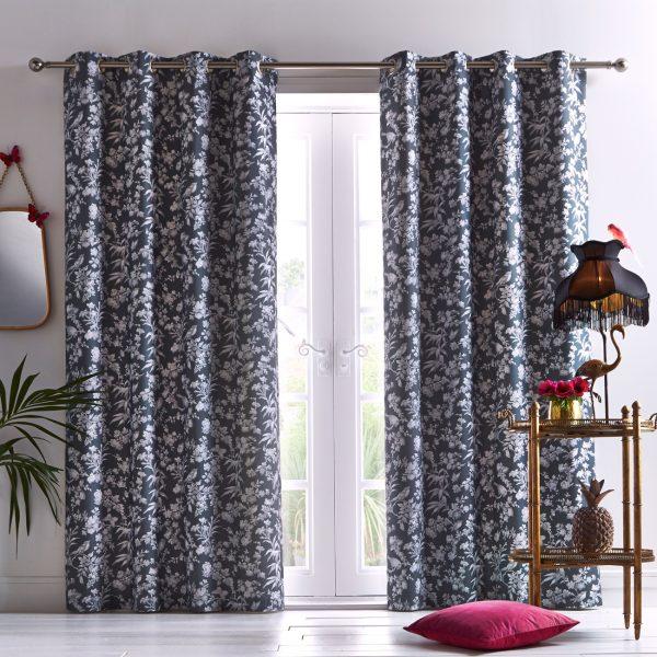 Oasis Home Amelia Eyelet Curtain