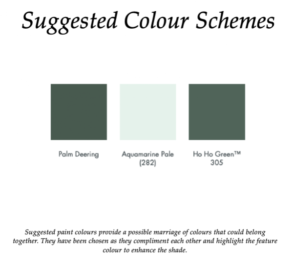 The Little Greene Paint Company Aquamarine Pale (282)