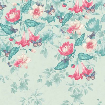 Little Greene Asterid Wallpaper