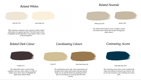 Little Greene Paint Complimentary Colours Baked Cherry (14)