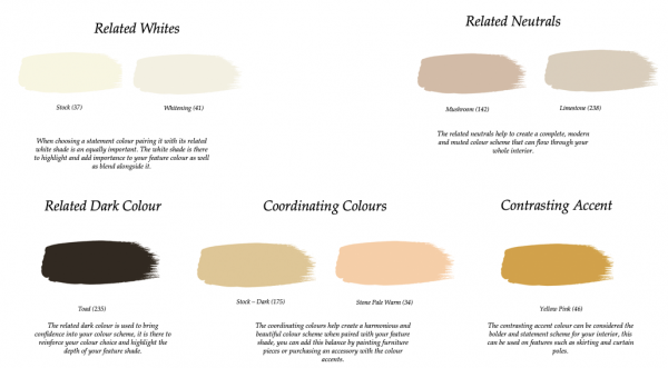 Little Greene Paint Complimentary Colours Bronze Red (15)