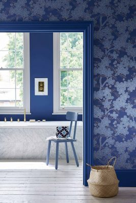 Little Greene Camellia Wallpaper
