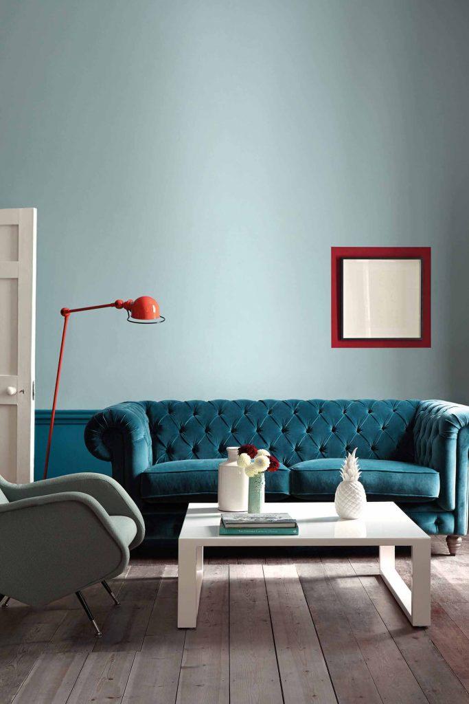 The Little Greene Paint Company Celestial Blue (101)