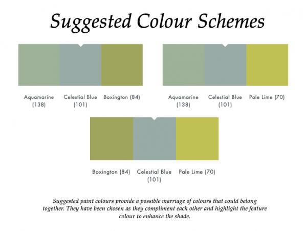 Celestial Blue (101)_Little Greene Suggested Colour Scheme