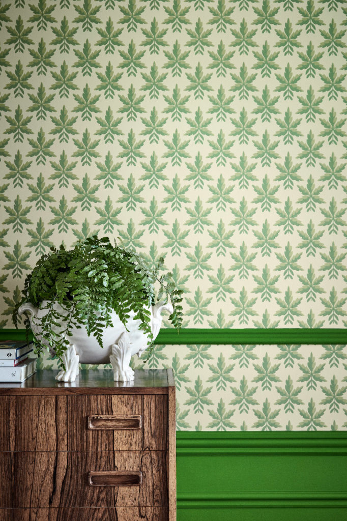 Little Greene Clutterbuck Wallpaper