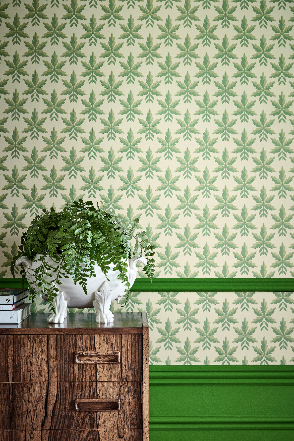 Little Greene Clutterbuck Wallpaper