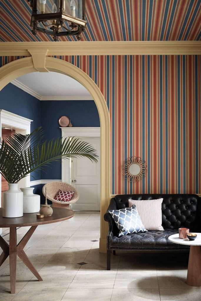 Little Greene Colonial Stripe Wallpaper