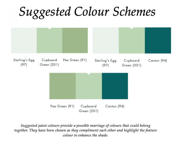 The Little Greene Paint Company Cupboard Green (201)
