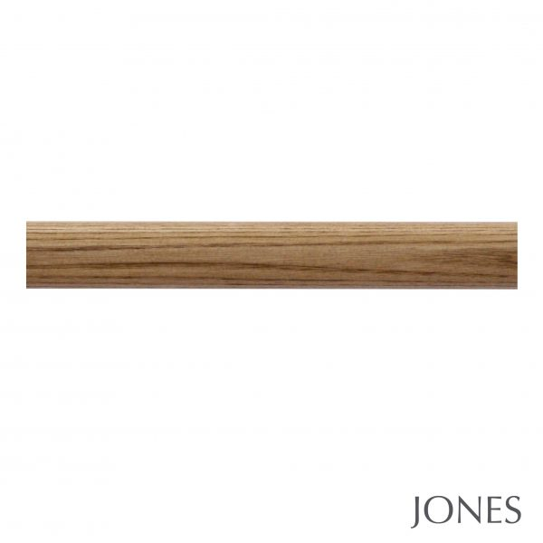 35mm Jones Strand Metal Curtain Pole only oak