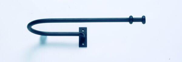 Artisan Wrought Iron Extended Holdbacks Stopper