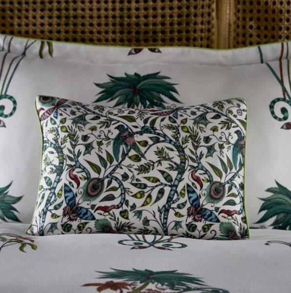 Emma J Shipley for Clarke & Clarke Jungle Palms Boudoir Pillowcase Jungle