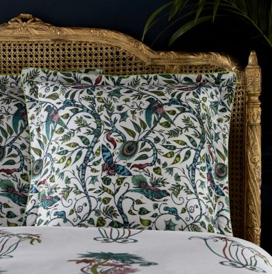 Emma J Shipley for Clarke & Clarke Jungle Palms Square Oxford Pillowcase Jungle