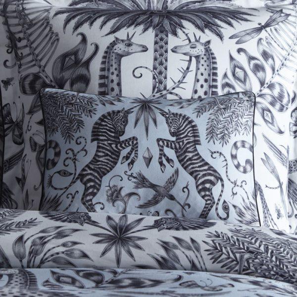 Emma J Shipley for Clarke & Clarke Kruger Rectangular Boudoir Pillowcase Eggshell